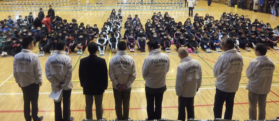 ミニバスケットボール大会(水郷体育館)